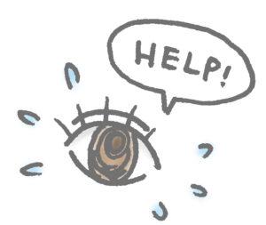 目のトラブル
